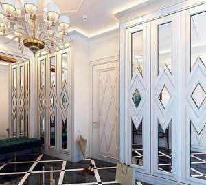Двери с делителем наклейкой Балаково