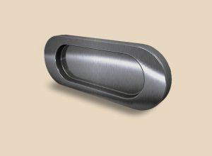 Ручка серебро глянец овальная Италия Балаково