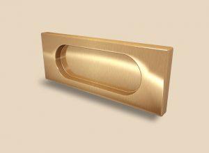 Ручка Золото глянец прямоугольная Италия Балаково