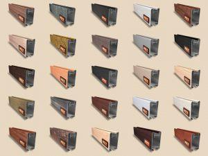 """Алюминиевый ламинированный профиль """"HOLZ"""" для шкафов купе и межкомнатных перегородок Более 100 цветов Балаково"""