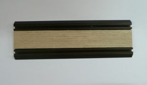 Направляющая нижняя для шкафа-купе вкладка шпон Балаково