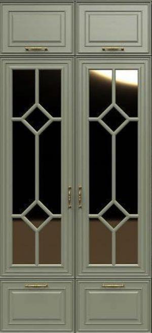 Фасад с фигурной филенкой эмаль Балаково