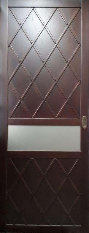 Вставка в дверь с фигурной филенкой Балаково