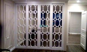 Двери с фигурной филенкой, эмаль Балаково