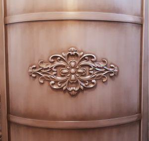 Вставка радиусная с декоративной накладкой эмаль с патиной Балаково